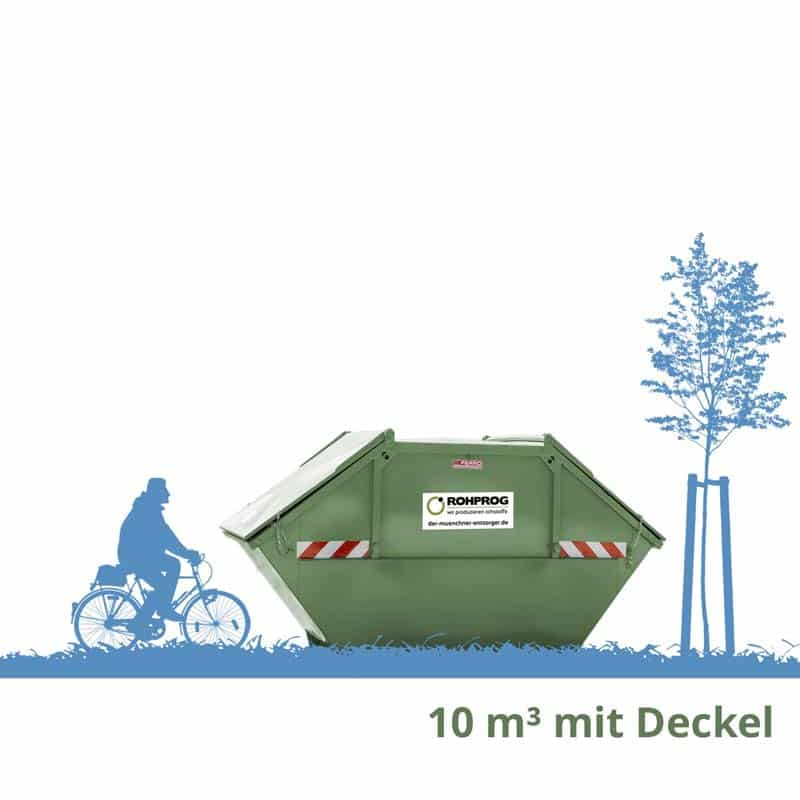 10m³ abschließbarer Container Aktenvernichtung, Archivräumung