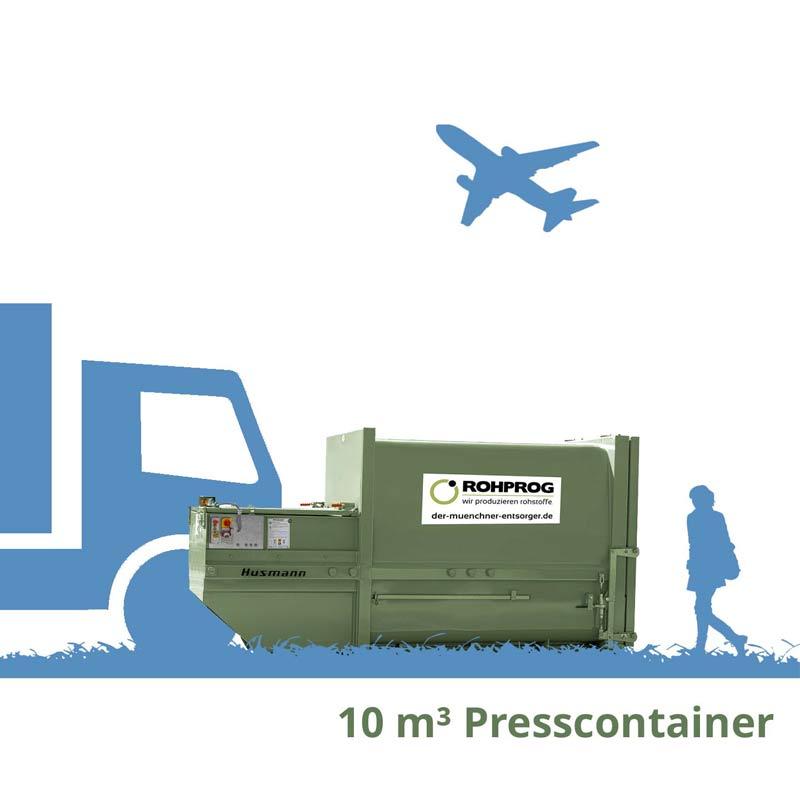 10 cbm Presscontainer München