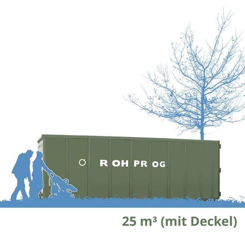 Abrollcontainer München 25 cbm