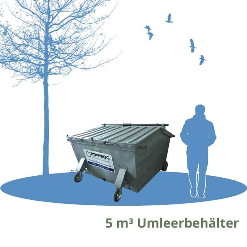 5cbm umleerbehaelter München