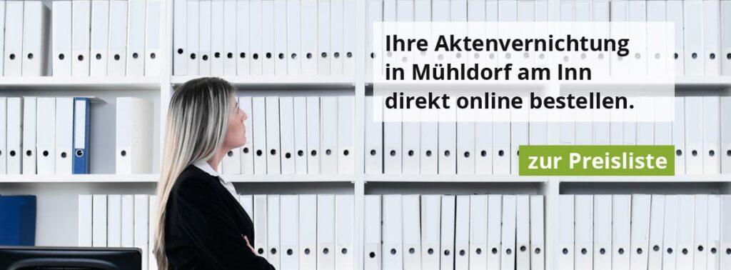 Aktenvernichtung Mühldorf am Inn