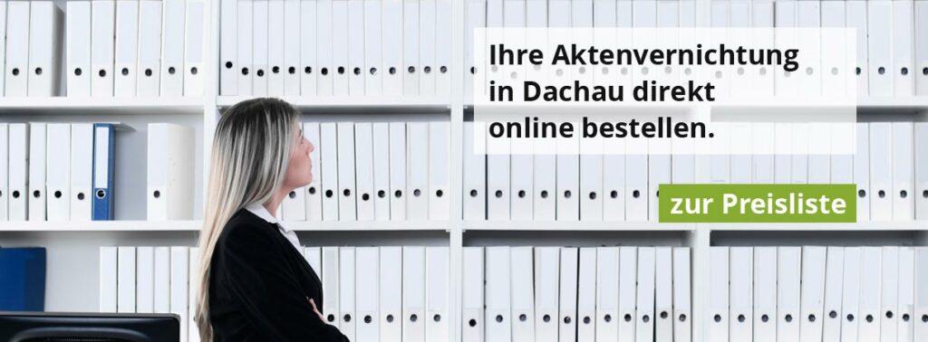 Rohprog Aktenvernichtung in Dachau
