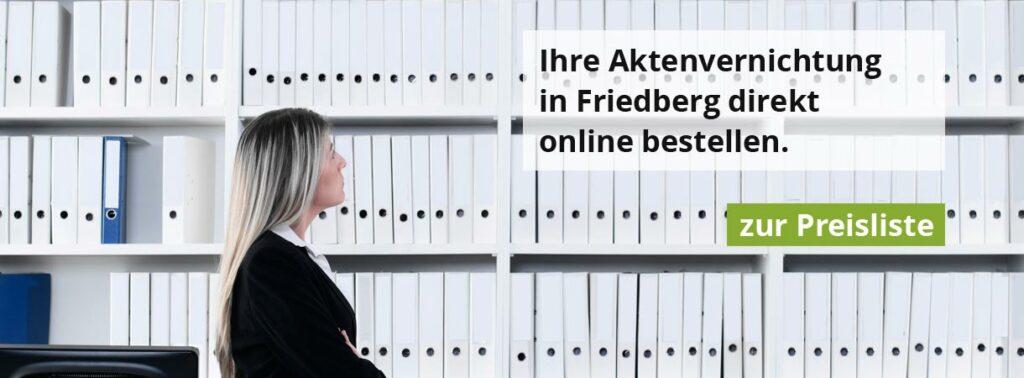 Rohprog Aktenvernichtung in Friedberg