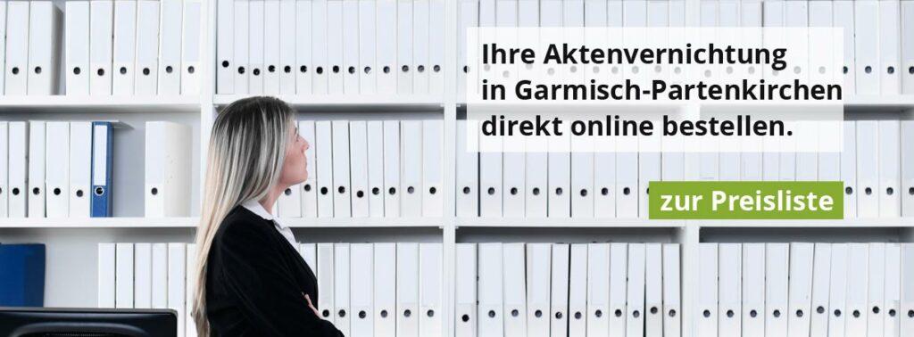 Rohprog Aktenvernichtung in Garmisch-Partenkirchen