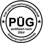 Rohprog Prüfsiegel EfbV