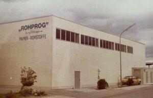 ROHPROG Nebau Gebäude 1974