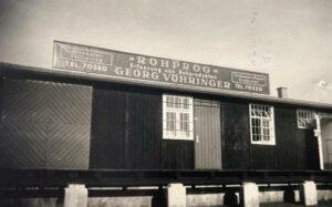 ROHPROG Sortierhalle 1946