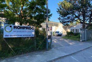 ROHPROG Standort Herbert Quandt Strasse