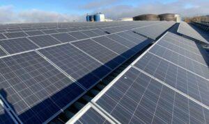 ROHPROG Solaranlage Dach