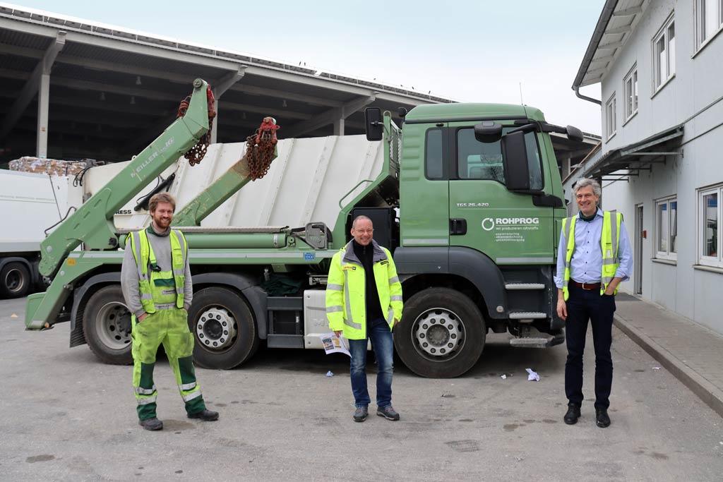 ROHPROG München Job LKW-Fahrer/in für Abroll- und Absetzkipper
