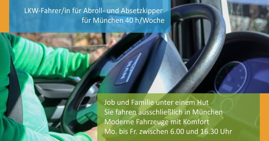job LKWfahrer München