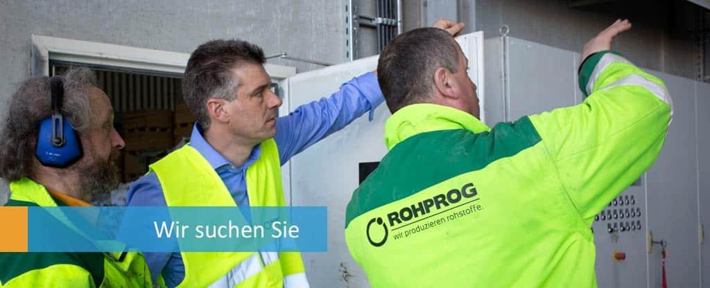 Jobs ROHPROG Mitarbeiter und LKW Fahrer München