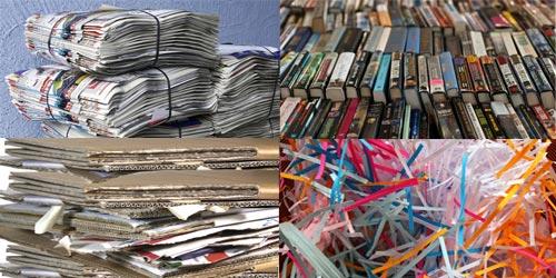 ROHPROG Papiersorten Altpapier verkaufen