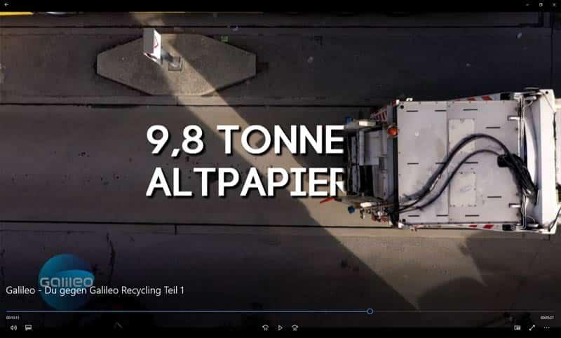 ROHPROG Recycling Altpapier