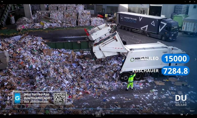 ROHPROG Altpapier Recycling