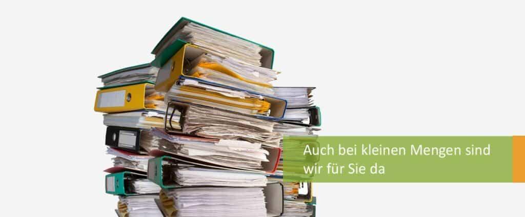 ROHPROG einmalige Aktenvernichtung in München