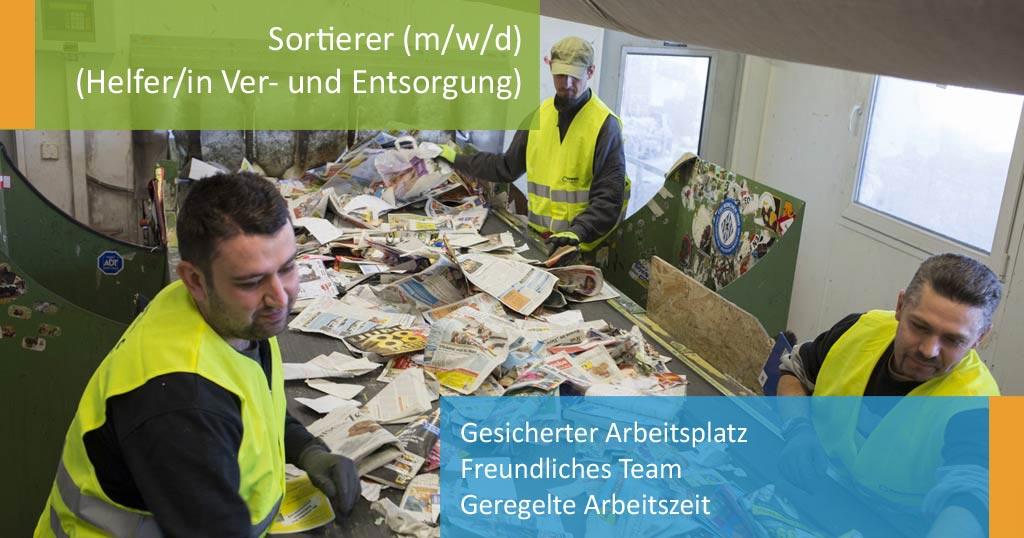 ROHPROG Stellenangebot Job Sortierer m/w/d