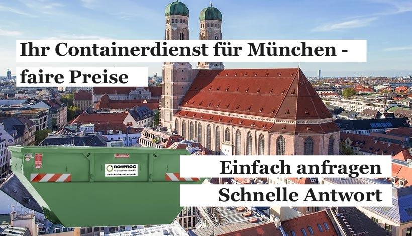 Containerdienst für München und Umgebung