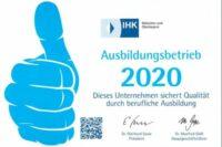 IHK Ausbildungsbetrieb 2020_ROHPROG